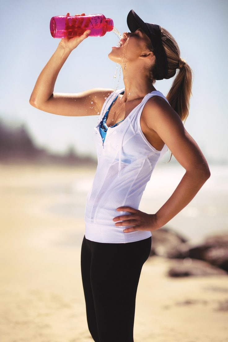 Drink water to stay healthy