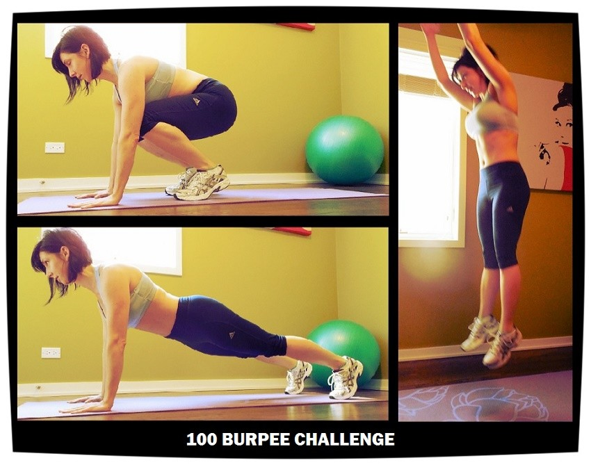100 burpee challenge