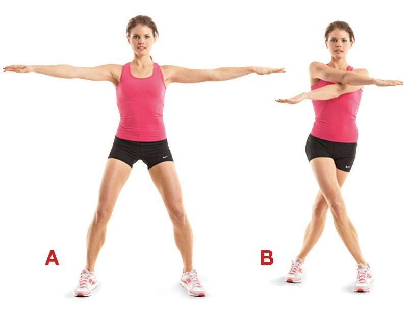Full body exercise Jumping Jacks