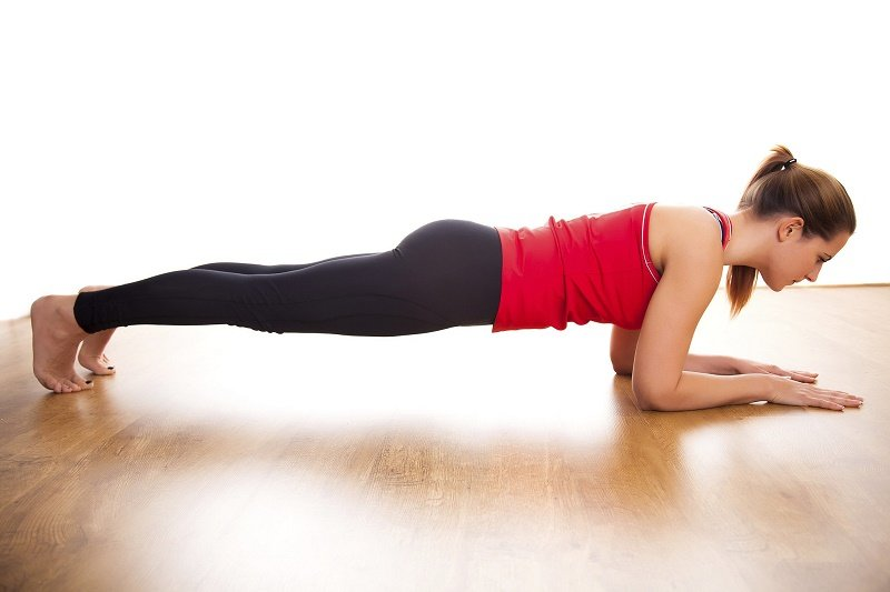 Full body exercise The Plank