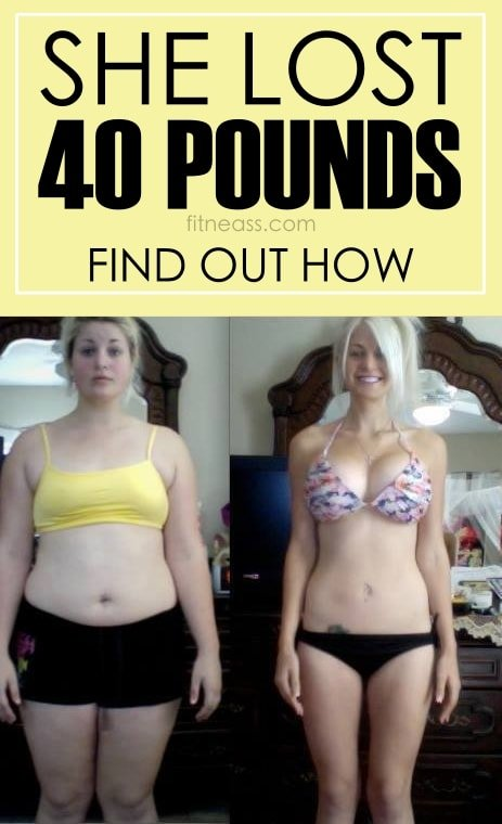 Lose 40 Pounds With Katie