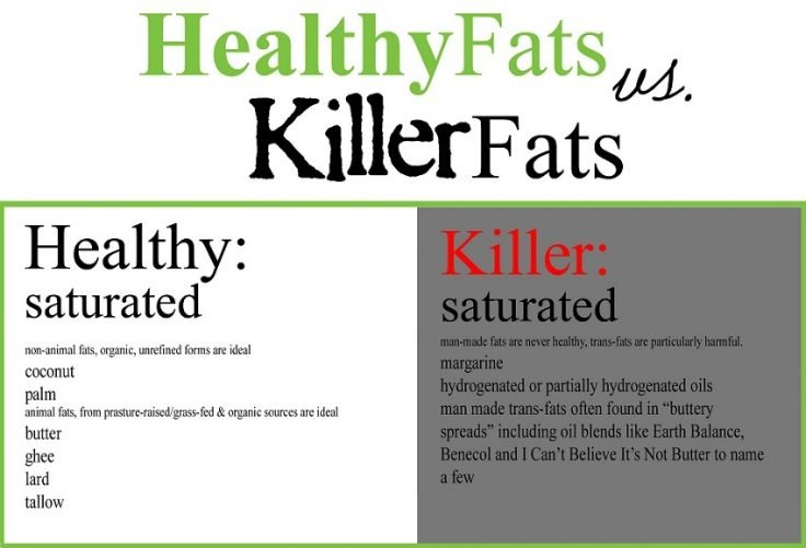 Paleo fats