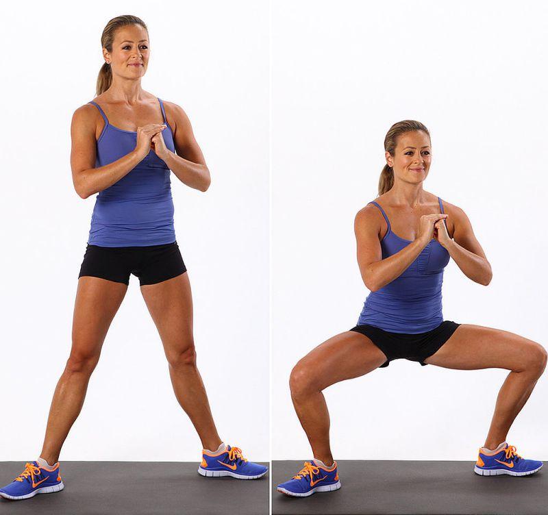 1000 Squats Challenge - Plie squat