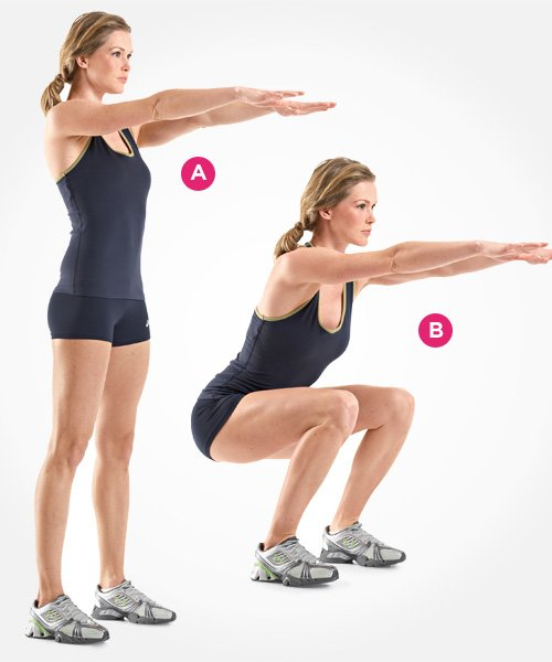Regular squat