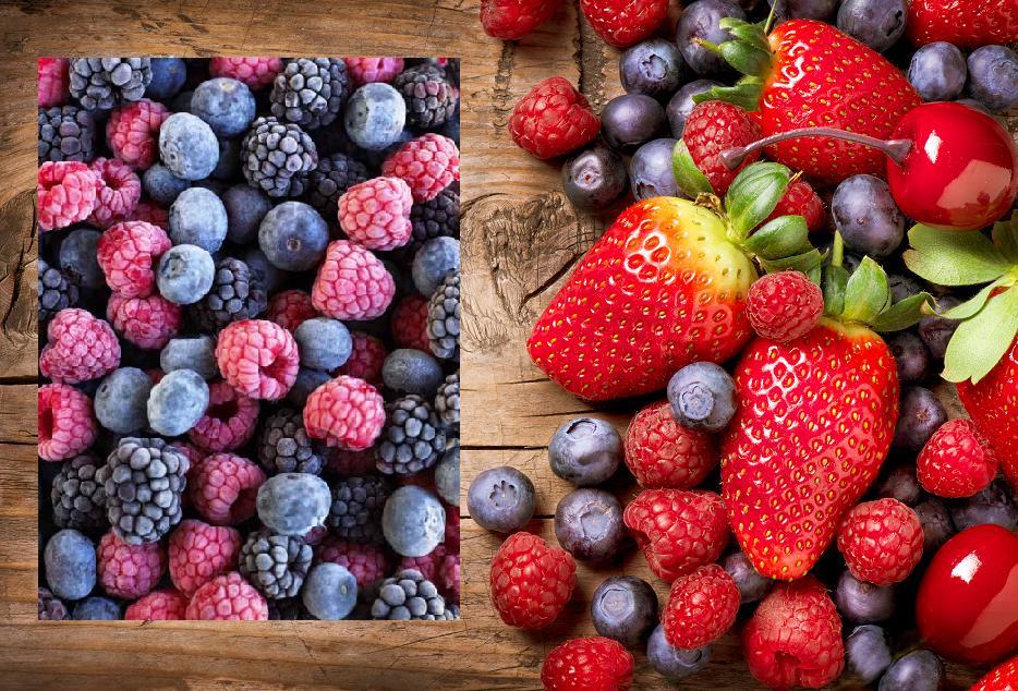 Frozen berries vs organic