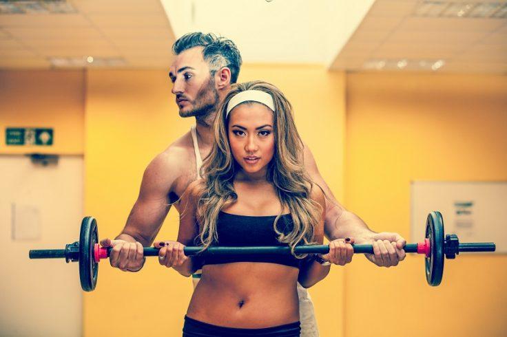 Gym HIIT workout
