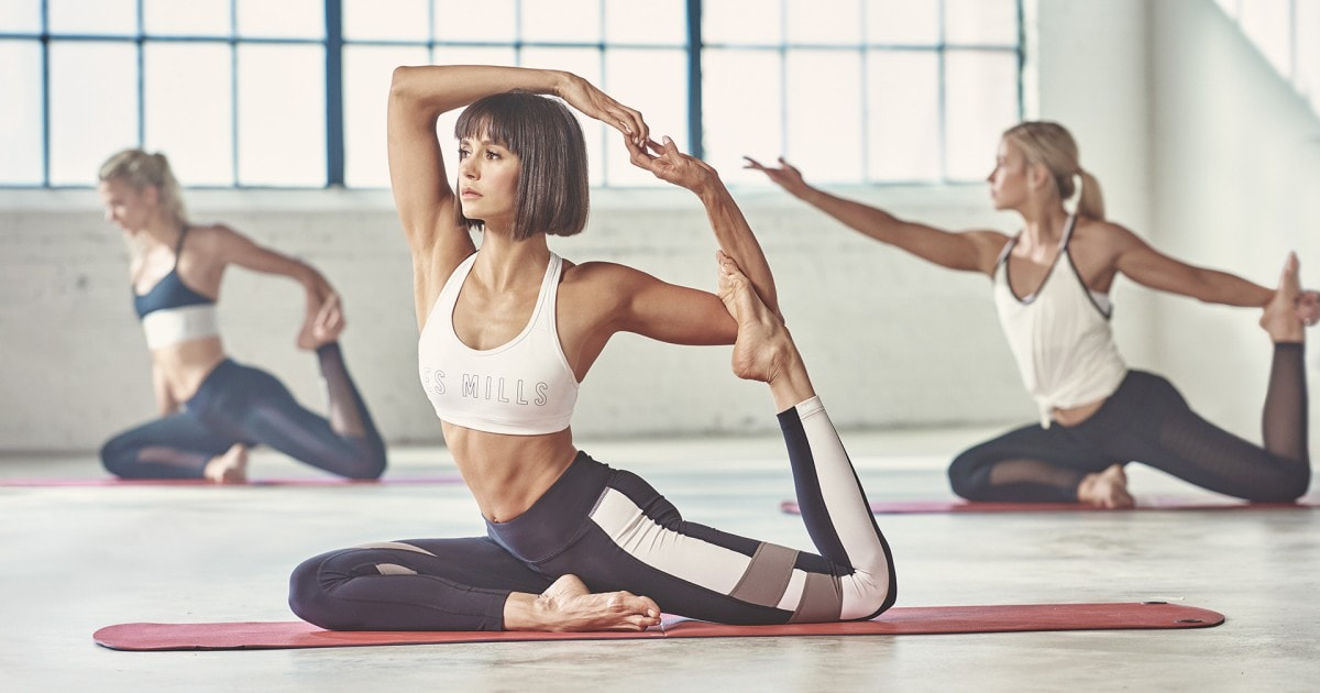 Nina Dobrev's Favourite Yoga Workout