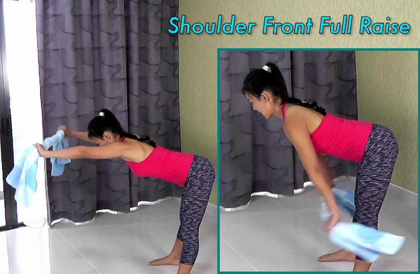 Shoulder front full raise