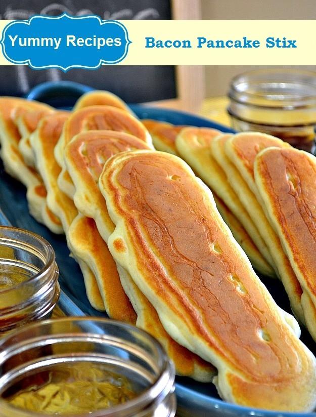 Bacon Pancake Stix