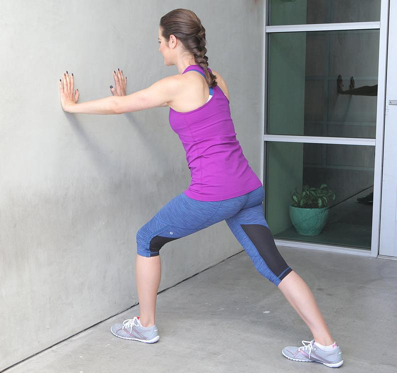 Calf slimming exercises Calf stretches