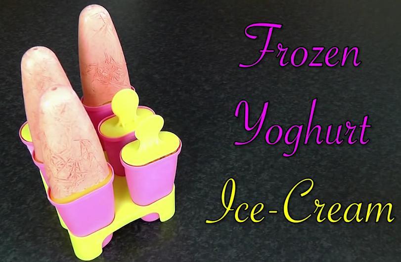 Late night snacks frozen yogurt
