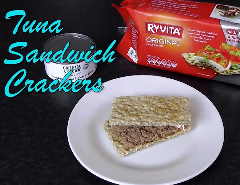 Late night snacks tuna sandwich
