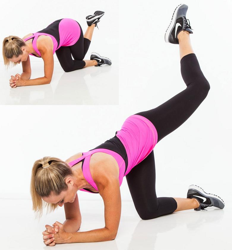 Sexy booty exercise