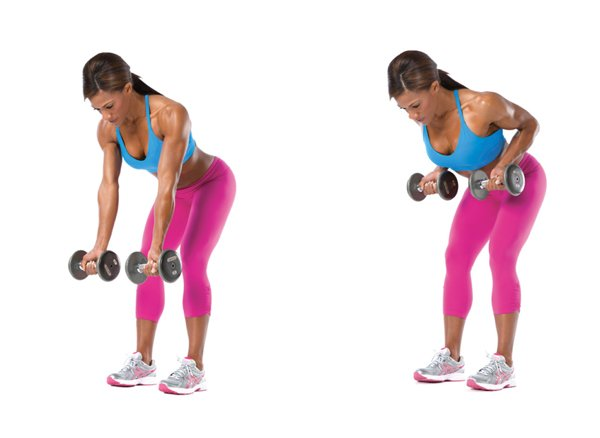 Deadlifts And Bent-Over Row