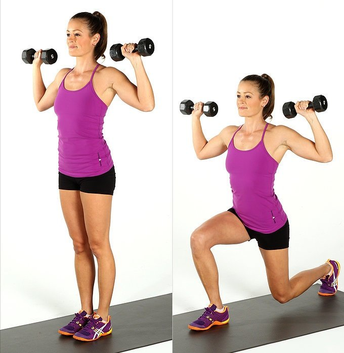 Superset 2a Dumbbell Chest Press: Fitness Routine With 5 Supersets For A Full Body Workout