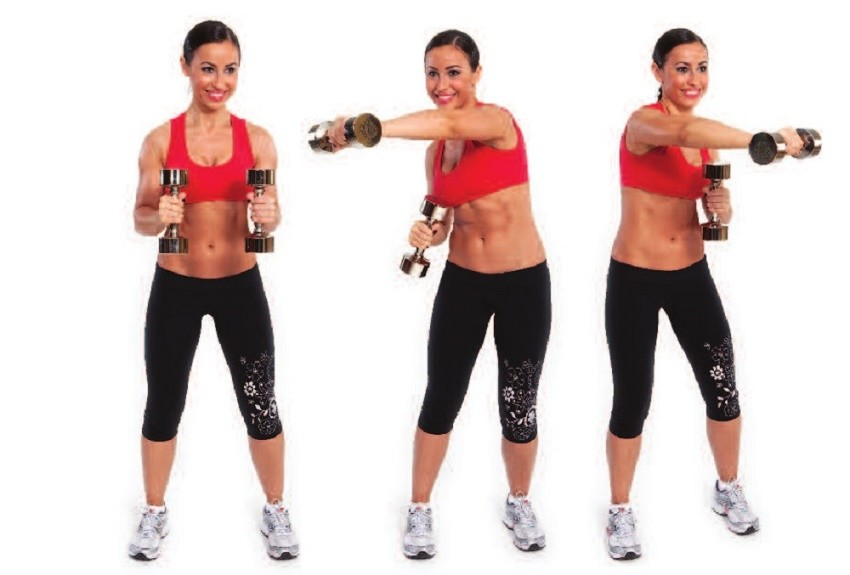 fitneAss | Exercises For Lean Arms With Lightly Dumbbells