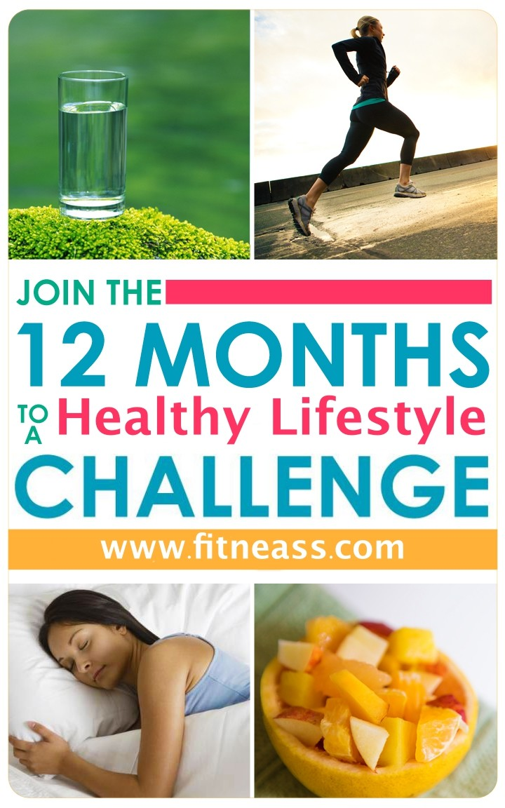 12 Months Challenge to a Healthy lifestyle