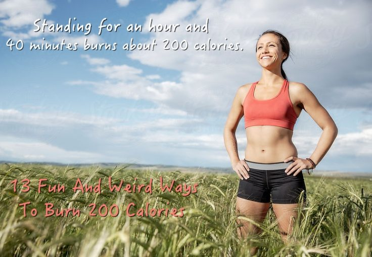 13 Ways To Burn 200 Calories