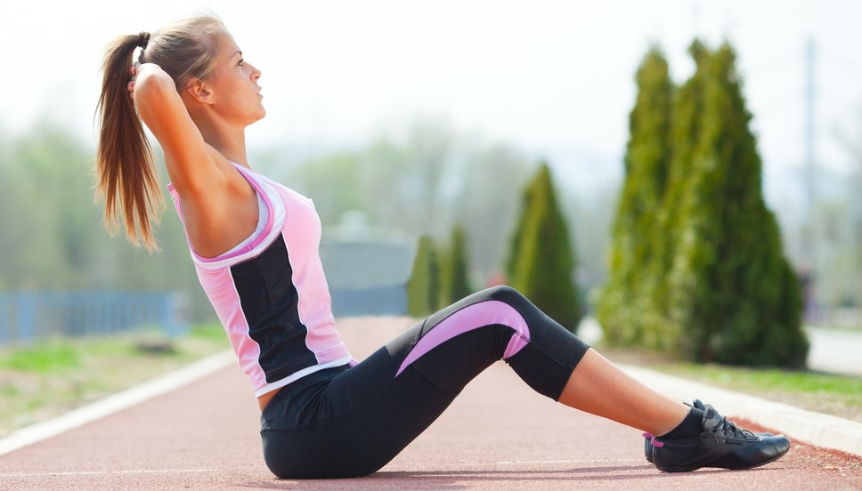 Beginner ab workout