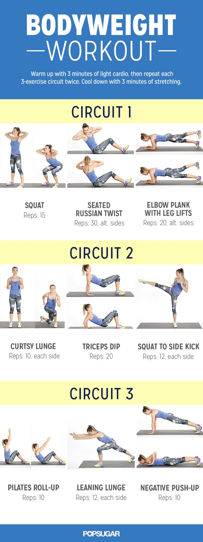 30 Minute Bodyweight Workout For Everyone Fitneass