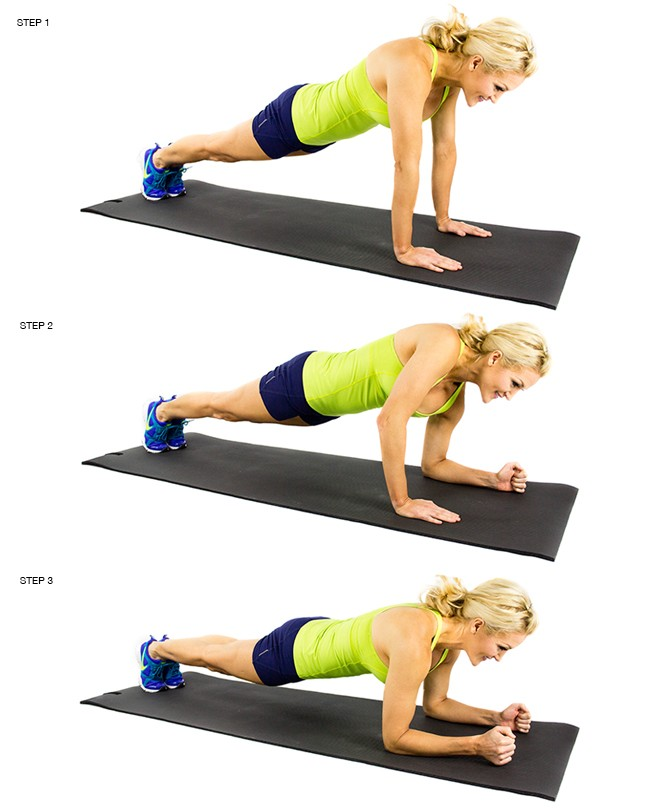 Plank Up-Down