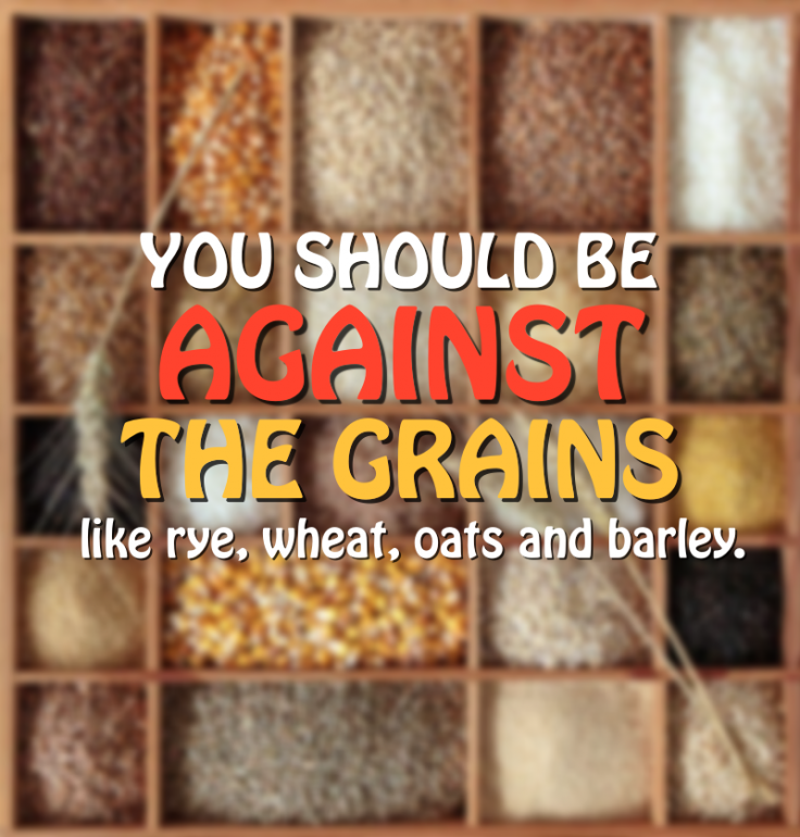 Protein from grains are bad