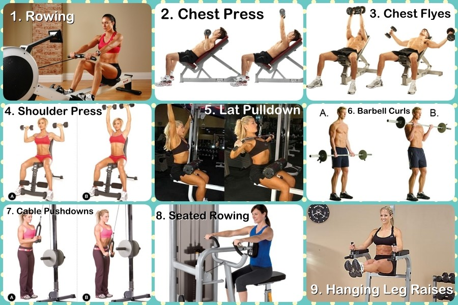 fitneAss | What An Upper Body Gym Routine Should Look Like