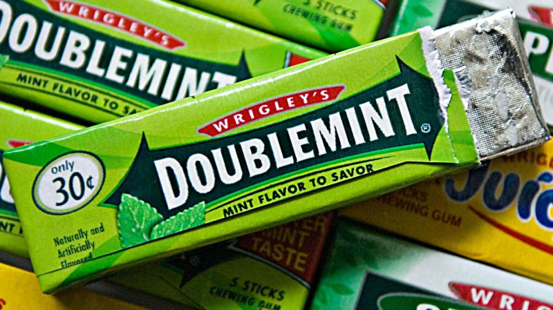 Banned Food Chemicals in Doublemint