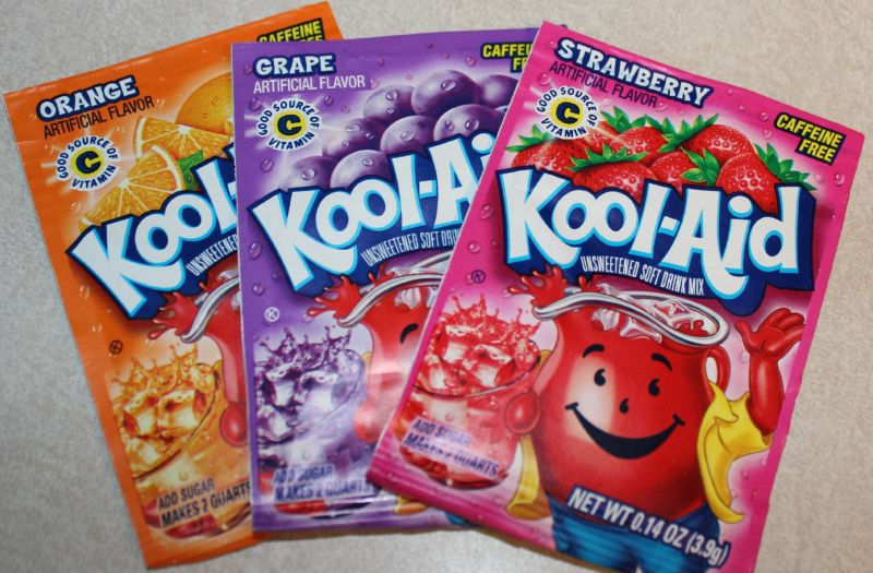 Banned Food Chemicals in Kool-Aid
