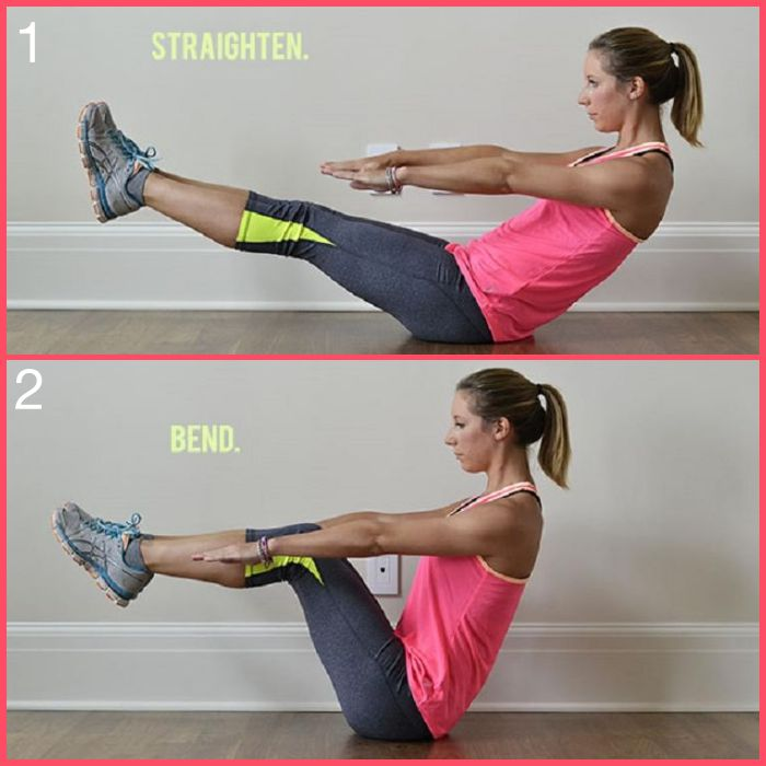 Ab Routine Suitcase Crunch
