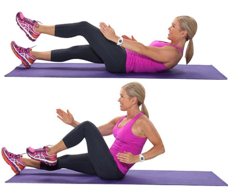 Ab Circuit Sprinter Crunches