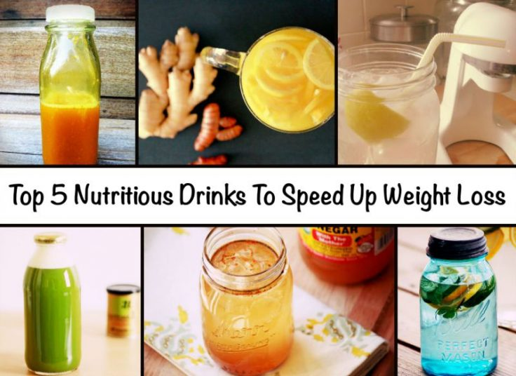 5 Nutritious Drinks for weight loss