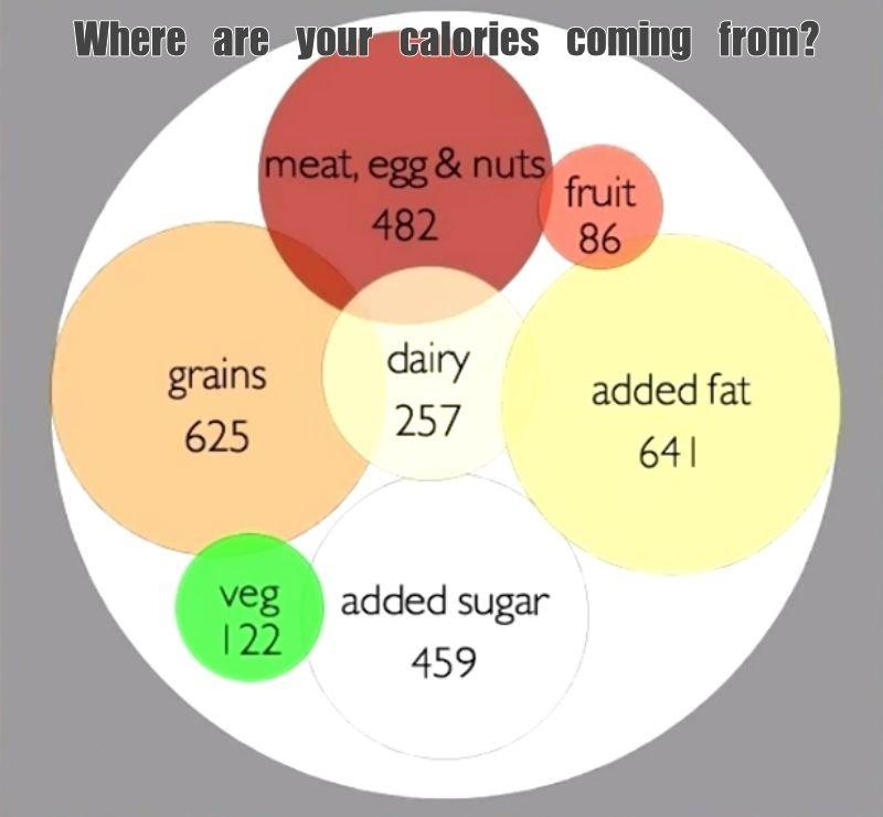 American caloric intake