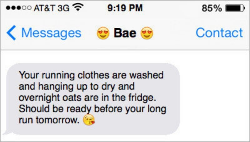 Perfect Texts for Gym People