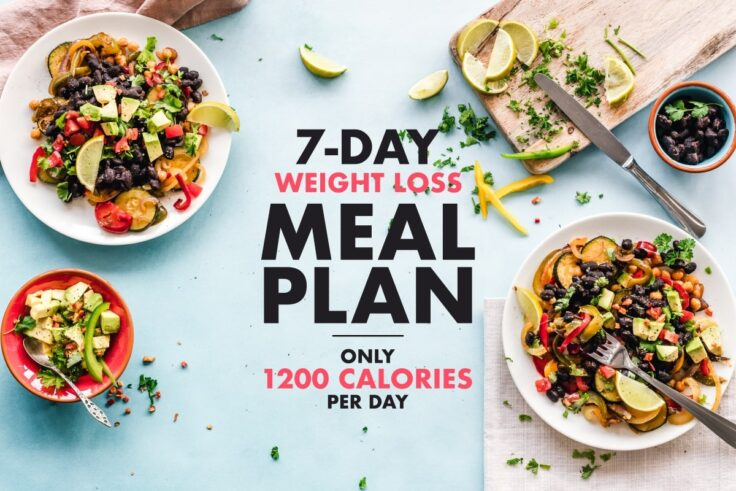 1200-Calorie Meal Plan For 7 Days