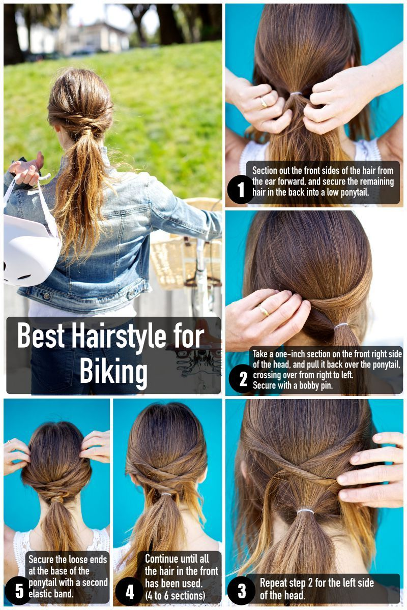 Best Fitness Hairstyle for Biking