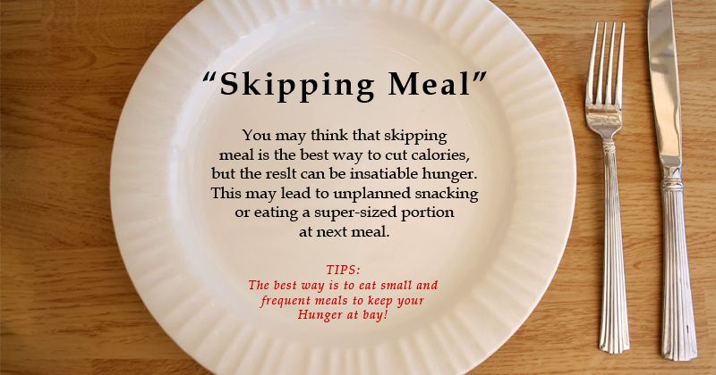 Lose Weight Without Skipping Meals