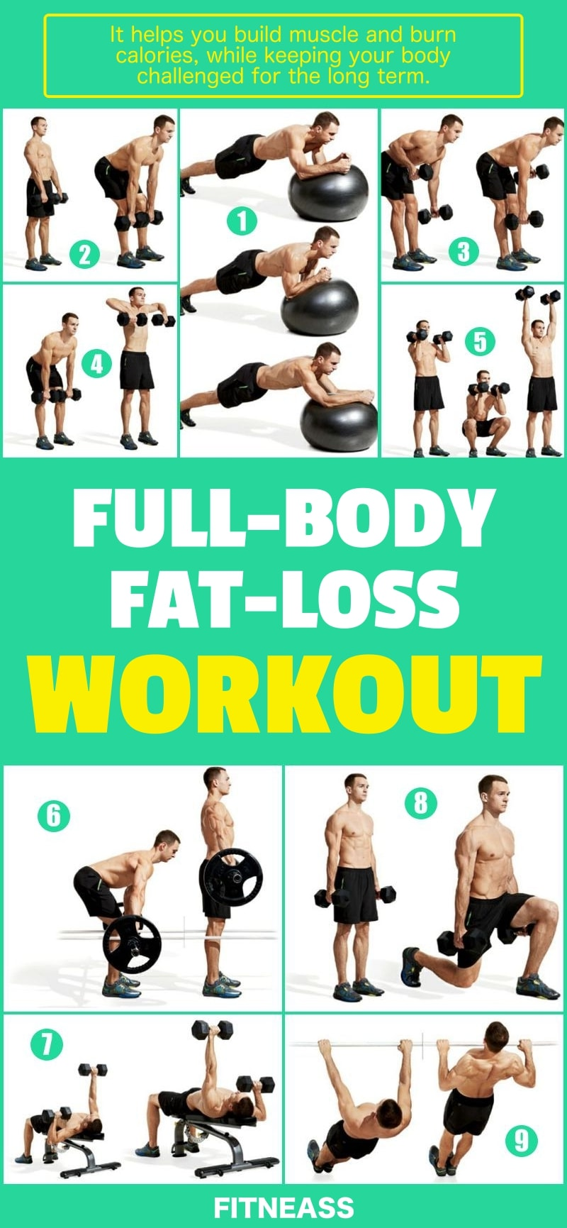 The Only Full-Body Fat-Loss Workout You Need