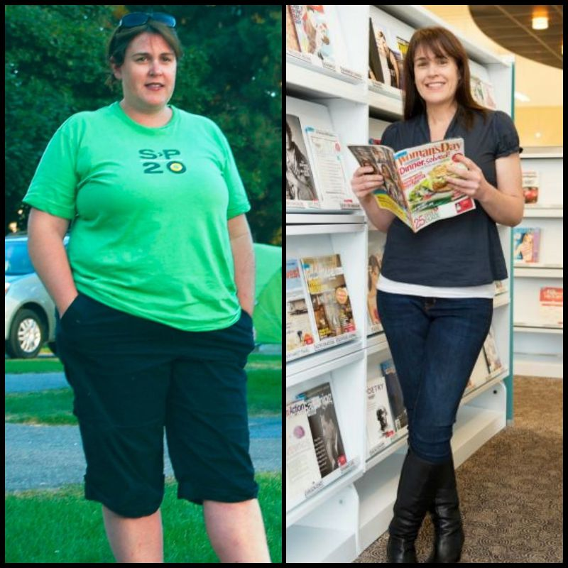Facebook helped her to lose weight