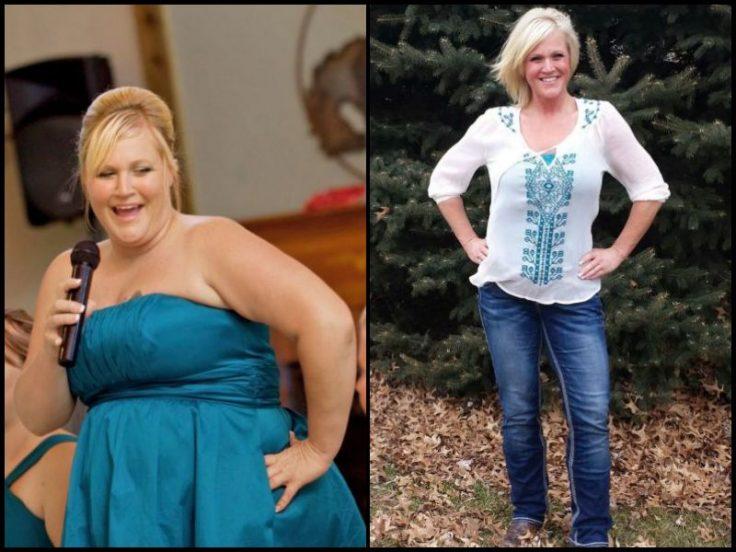 Weight-Loss Transformation Tallena Johnson