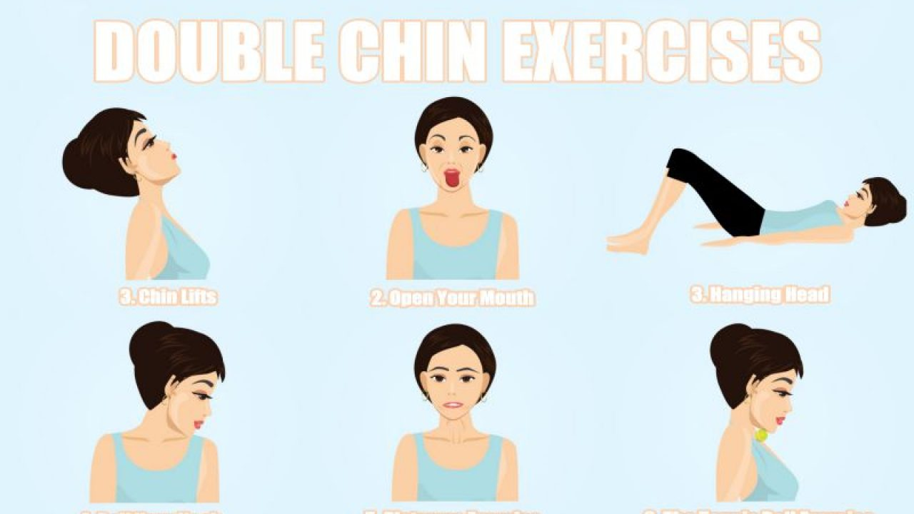 Double Chin Exercises To Tone Your Chin And Neck - Fitneass