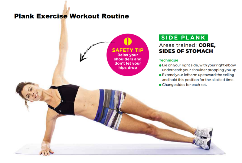 Burning Belly Fat - Side Plank