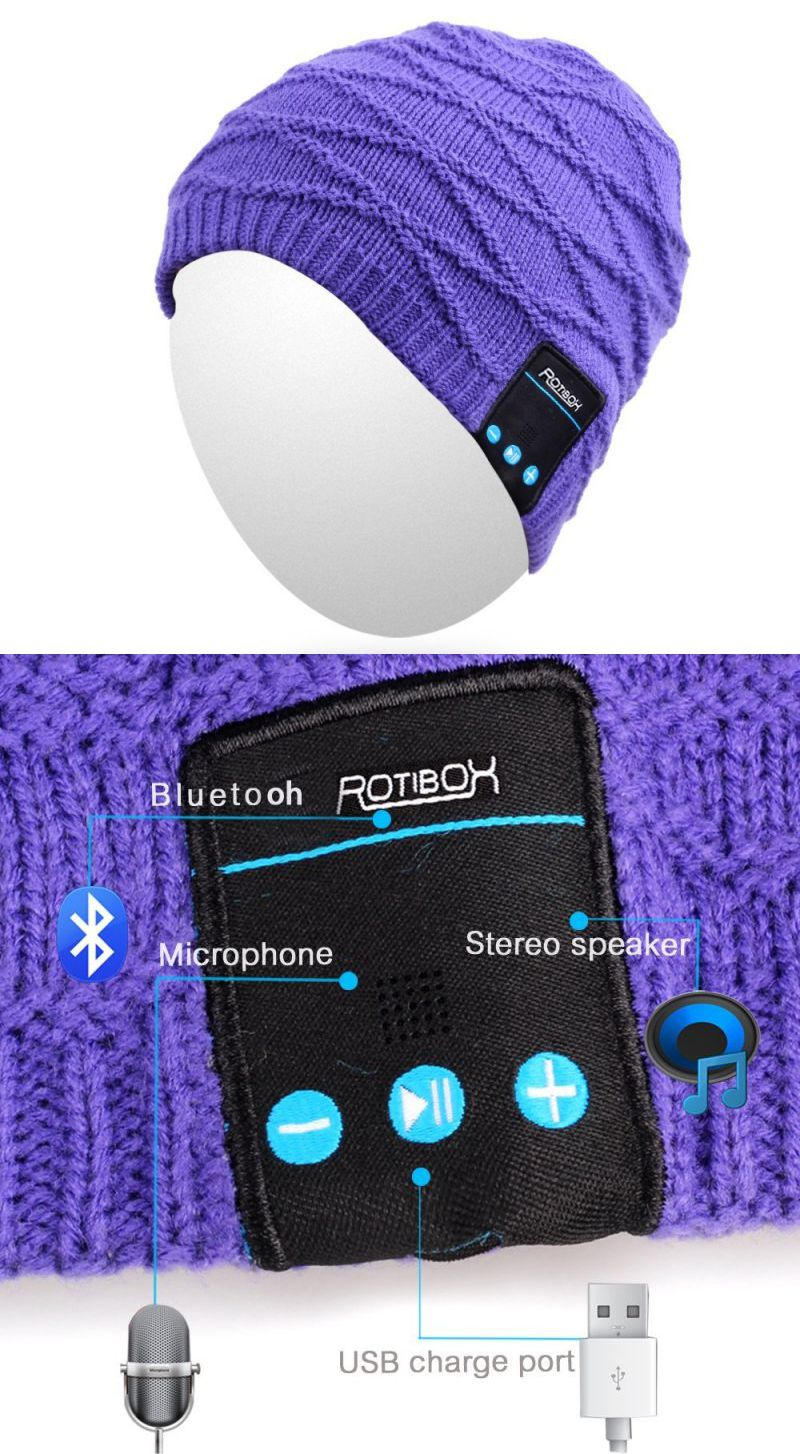 Fitness Gift Ideas - Bluetooth Hat