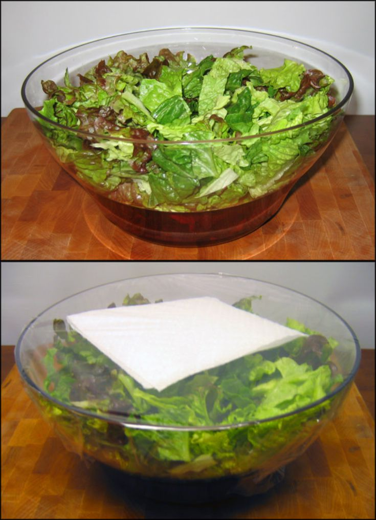 Save salads for weeks