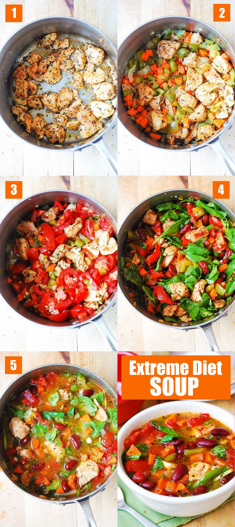 Extreme Diet Soup