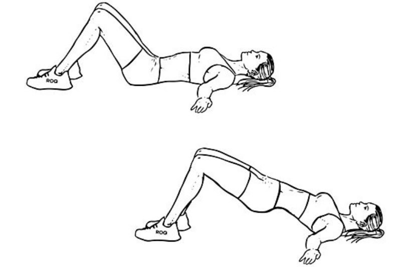 Pilates Workout - Bridge