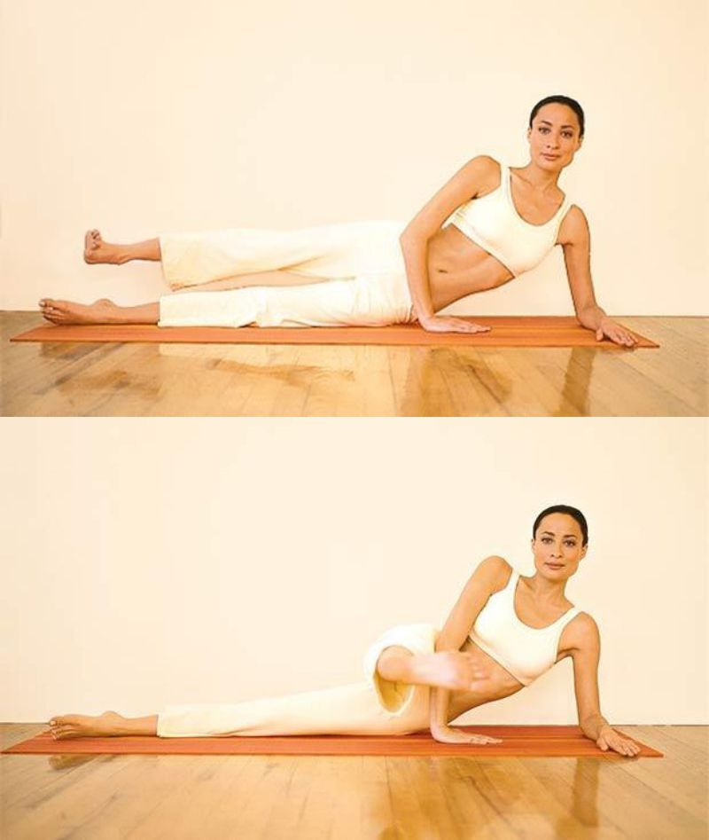 Pilates Workout - Side Leg