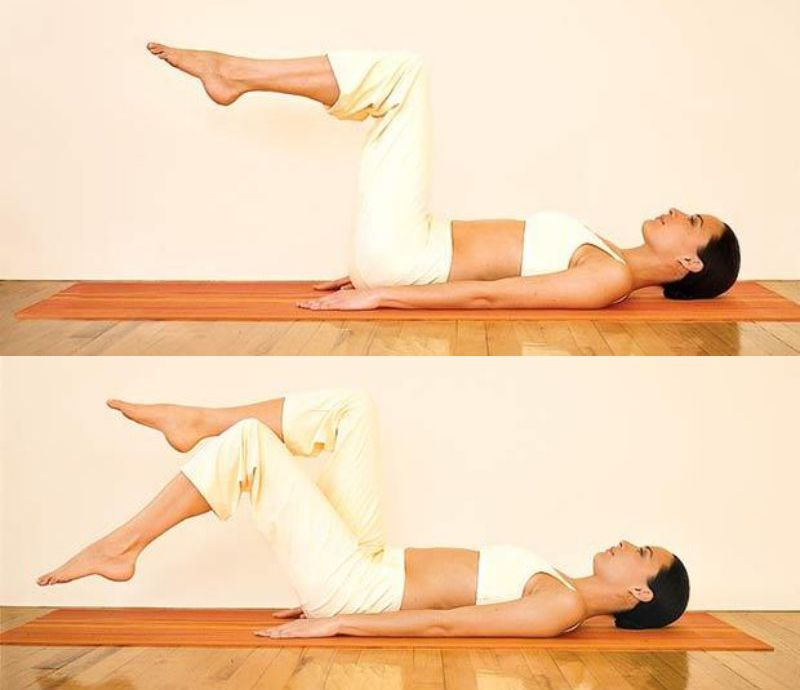 Pilates Workout - Toe Dips