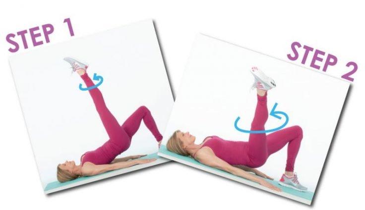 Pilates Leg Circles