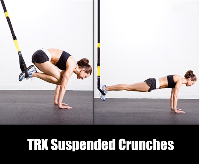 TRX Suspended Crunch for V Abs